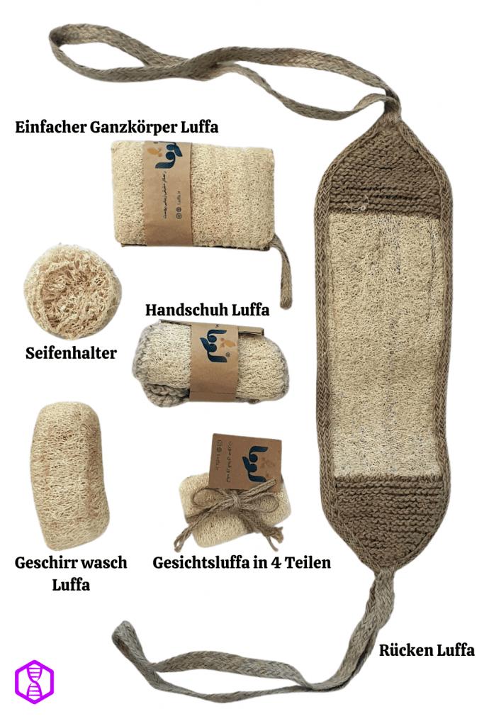 Luffa Schwamm Kaufen Komplettset