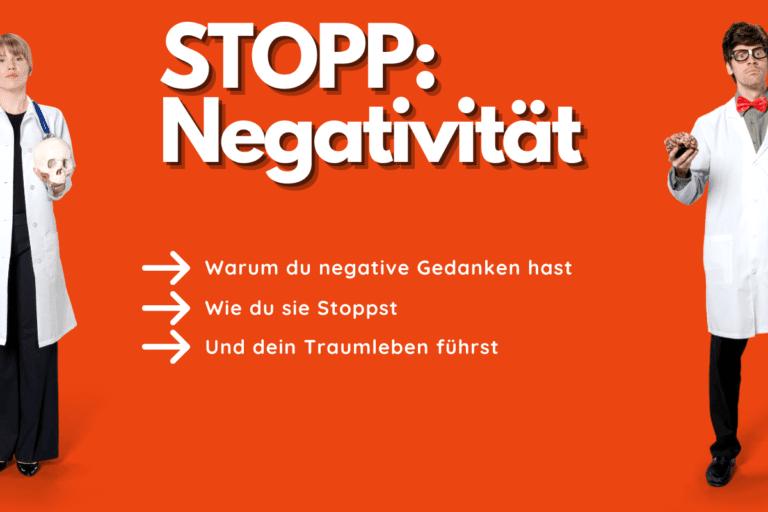 Warum du negative kreisende Gedanken hast und wie du sie stoppen kannst