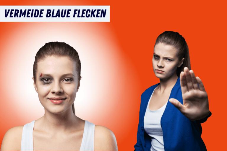 Warum blaue Flecken beim Hula Hoop gefährlich werden können und wie du sie vermeidest